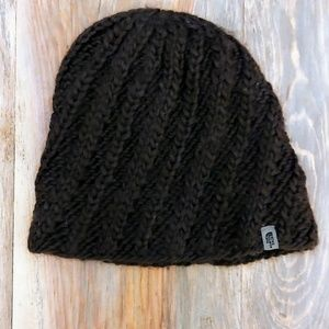 North Face Beanie Brown